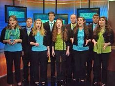 University Singers aired on WYFF News 4 to inform them about Operation Freedom Cadence.