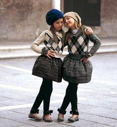 girls fashion, kids fashion, hat, skirt, flats, sweater, winter, fall