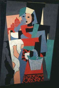 """Pablo Picasso, """"L'italiana"""""""