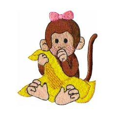 ch08 - Little Monkey Children's Embroidery Design