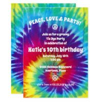 1960's Party Invitations featured at Retro Invites today! Visit now to see them all! #tiedye #invitations #1960s Hippie Birthday, Hippie Party, 13th Birthday Parties, Adult Birthday Party, 8th Birthday, Birthday Ideas, Summer Birthday, Tie Dye Party, Bachelorette Party Invitations