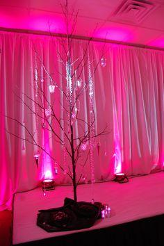 Wedding lighting spokane before and after wedding lighting gobo set up by a diy mom uplighting mitzvah tree theonelights solutioingenieria Gallery
