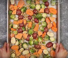 Légumes croquants rôtis au four - Recettes - Ma Fourchette