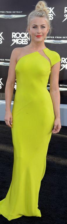 Julianne Hough: Dress - Kaufman Franco Shoes - Christian Louboutin Jewelry - Stephen Webster