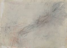 Cy Twombly, untitled, 1957.