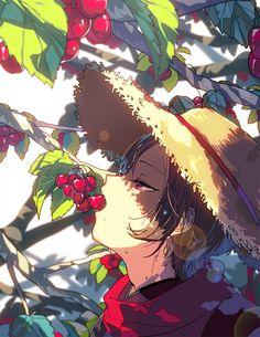【刀剣乱舞】サクランボを食べる加州【とある審神者】 : とうらぶ速報~刀剣乱舞まとめブログ~