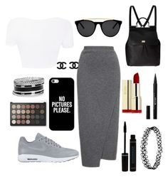 """❤"" by gabytee ❤ liked on Polyvore featuring NIKE, Dolce&Gabbana, Smoke & Mirrors, Casetify, Stila and GUESS"