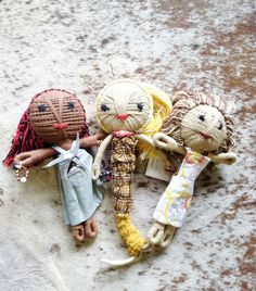 Hand made Bali Dolls