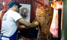 El Vilsito taquería in Mexico City  --Al Pastor, Bistec con queso, a partir de las 8 de la noche, Av Universidad