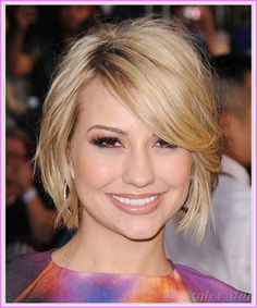 cool Short bob haircuts for heart shaped faces