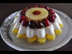 Greek Desserts, Summer Desserts, Kai, How Sweet Eats, No Bake Cake, Sweet Recipes, Mousse, Jelly, Waffles