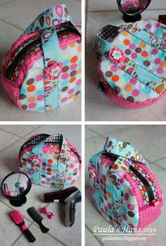 Beautycase - Tasche - Bag - Nähen - sewing