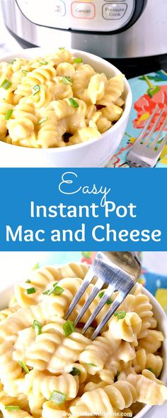 Easy Instant Pot Mac and Cheese recipe with step-by-step video! Learn how to make Macaroni and Cheese in an Instant Pot or pressure cooker. This creamy Instant Pot Macaroni and Cheese is total comfort food. The perfect family dinner for busy weeknights. A simple Pressure Cooker Mac and Cheese recipe made with pasta, butter, cream cheese, milk, cheddar and Monterey Jack cheese. | Hello Little Home #instantpot #pressurecooker #macandcheese #instantpotmacandcheese #macaroni #macaroniandcheese