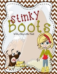 This week's classroom board game is called Stinky Boots!  I first saw this game on Teaching in the Fast Lane.  I played Stinky Feet for years but then decided to modify it because my students were so interested in my hiking trips.  (Every time we have a day off, they want me to take them hiking!)Stinky Boots and Stinky Feet are played the same way.