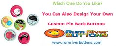 What is Custom Pin Back Buttons? Is It A Tool For Fashion Or For Advertising?
