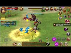Light of Aiaran ACTION FANTASY Game #1 - Light of Aiaran is a Android Free 2 play Fantasy Role Playing MMO Game MMORPG featuring real-time Open Field Battles
