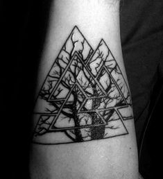 nice Tattoo Trends - 50 Valknut Tattoo Designs For Men - Norse Mythology Ink Ideas... Check more at http://tattooviral.com/tattoo-designs/tattoo-trends-50-valknut-tattoo-designs-for-men-norse-mythology-ink-ideas/