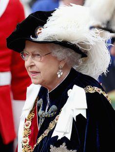 Hello!-Order of the Garter Service 2014, June 16, 2014-Queen Elizabeth