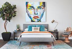 Cosmopolitan Cool - Bedroom - Room Ideas