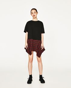 Zara Contrast Checked Tunic Mini Dresses Summer 2017 most famous branded clothes available man's and women online shopping worldwide shipping.. #zara #zarafashion #zaradresses #zarawomenclohtes #zarawomenfashion #zarasummer2017 #womenfashion's #womendresses #womenfashion #womenclothes #ladiesfashion #ladiesclothes #fashion #style #fashion2017 #style2017 Whatsapp: 00923452355358 Website: www.original.pk