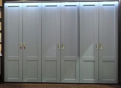 J&J Heritage Six Door Wardrobe Unit Custom Made In Your Chosen Size and Colour image