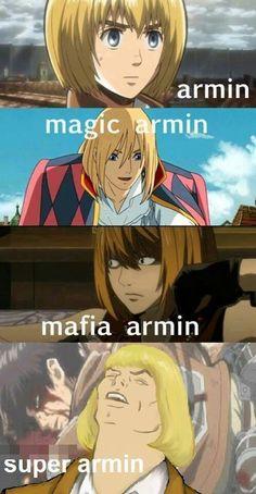 Je prefere magic armin