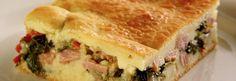 Receita de Torta de escarola e bacon - Receitas Supreme