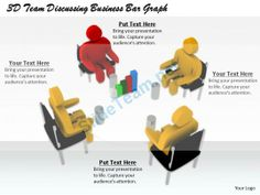 1813 3D Team Discussing Business Bar Graph Ppt Graphics Icons Powerpoint #Powerpoint #Templates #Infographics