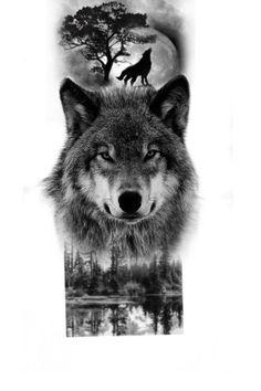 Rib Tattoos For Guys, Wolf Tattoos Men, Forarm Tattoos, Cool Arm Tattoos, Animal Tattoos, Nature Tattoo Sleeve, Wolf Tattoo Sleeve, Phoenix Tattoo Design, Wolf Tattoo Design