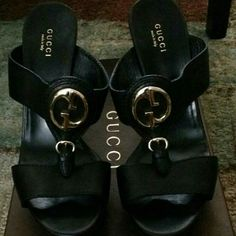 Gucci sandals (make an offer) Worn once Gucci sandals Gucci Shoes Sandals