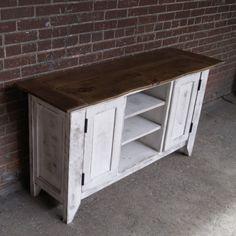TV Stand / Media Console / Media Cabinet / Rustic by FurnitureFarm, $699.00