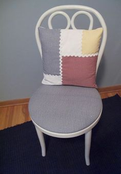 Bistro Chair Cushion Makeover Diy