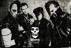 The Misfits are an American rock band often recognized as the progenitors of the horror punk subgenre, blending punk rock and other musical influences with horror film themes and imagery. Founded in 1977 in Lodi, New Jersey by singer and songwriter Glenn Danzig, the group had a fluctuating lineup during its first six years with Danzig and bassist Jerry Only as the only consistent members.