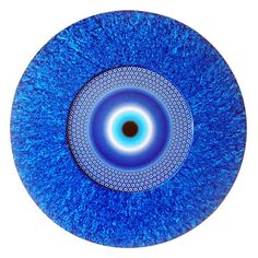 PROTEÇÃO CONTRA O MAU OLHADO. Peça de MDF com textura de tinta acrilica e imagem com impressão policromia. Tecnica decoupage (colagem). Fornecida em dois tamanhos: 42 cm ou 58 cm. Consulte outras dimensões. Eye Painting, Dot Art Painting, Mandala Painting, Mandala Art, Hamsa, Evil Eye Art, Eye Images, Turkish Eye, Mosaic Garden