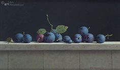 Still life with plums | Henk Helmantel - Art Revisited