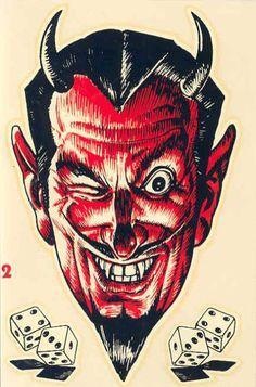 Racing decals & emblems. Traditional Tattoo, Diablo, Cool Art, Seven Deadly Sins, Psychobilly, Baphomet, Occult, Devil, Julia Alvarez