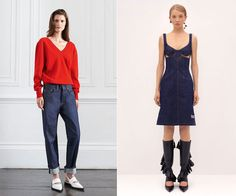From purist to playful, see a roundup of the most impressive denim from the new collections.