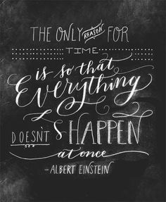 Quote by Albert Einstein // llustration by Molly Jacques.