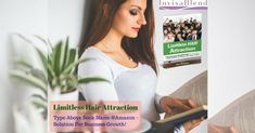 On every single page of Limitless Hair Attraction book is knowledgeable how to grow any kind of business, NOW! Buy this book online on Amazon or on the Invisablend.com Store. Call on 1-800-992-9976 #hairsup #hairshophairextensions #hairstudiossa #hairstudio  #salonstyle #salonhair #salonowners #hairloss #beauty