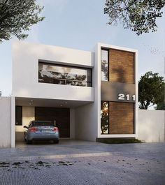 I have 30 pictures of remarkable modern house designs that will inspire you and make you want to live in a contemporary home even more! Get inspired and start working hard and one day all of us will have our own dreamy modern house! Modern Residential Architecture, Architecture Design, Computer Architecture, Enterprise Architecture, Pavilion Architecture, Baroque Architecture, Architecture Awards, Japanese Architecture, Architecture Student
