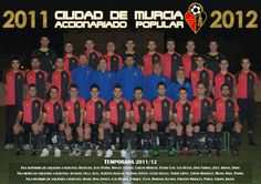 PLANTILLA DEL CAP CIUDAD DE MUECIA 2011/2012