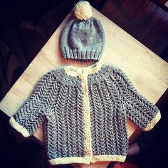 Lacy Baby Sweater | 9 Delightful Knitting Patterns You Should Try Right Now