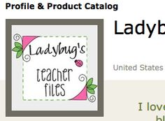 Ladybug's Teacher Files: Tutorial: Creating a link to your blog on TpT