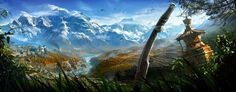 Discover those amazing Concept Art for Far Cry 4