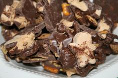 SusieQTpies Cafe: Chocolate Gingerbread Snack Mix recipe