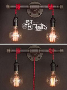 Wilbur Industrial Pipe Sconce