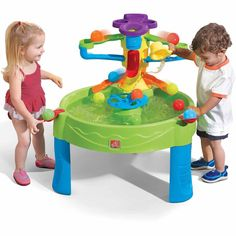 Water Table Busy Ball Play Ten Balls and Scoop Included Kids Toddler Summer Toys #Step2