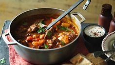 BBC Food - Recipes - Beef goulash soup (Gulyas leves)