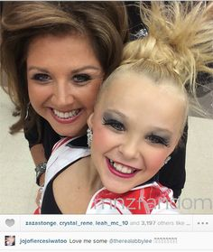 [S5E3] Abby Lee Miller with Jojo Siwa. Jojo competed with the ALDC.