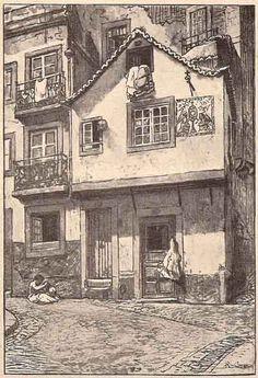 Rua dos Cegos   Portugal velho  drawing